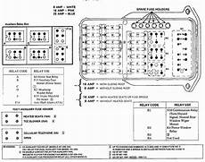 fl70 fuse holder diagram where is the relay located on a 1991 190e