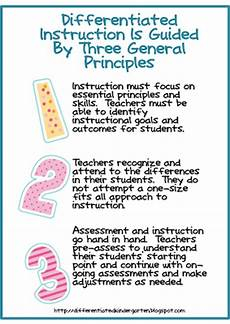 guidelines for differentiating and the common core along