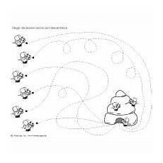 ausmalbild biene imker zeichnen und f 228 rben