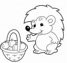 Ausmalbilder Igel Kleinkinder Malvorlagen Igel Zum Ausdrucken