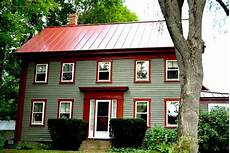I Like The Siding Color For This Roofed Home Plus The
