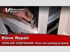 Jenn Air JES8750AAW Stove Diagnostic Repair ? Door not