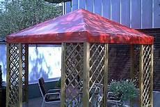 pavillon ersatzdach 3x3 aus lkw pvc plane 680 wasserdicht
