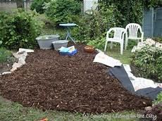 Garten Mit Rindenmulch Gestalten - of garden paths with bark mulch wege und