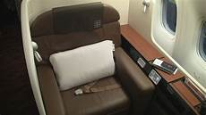 japan airlines review 777 300 class seat