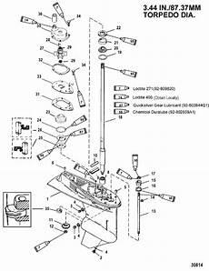 Mercury Marine 60 Hp 4 Stroke 4 Cylinder Gear Housing