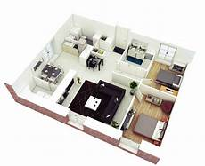 25 more 2 bedroom 3d floor 25 more 2 bedroom 3d floor plans simple house plans