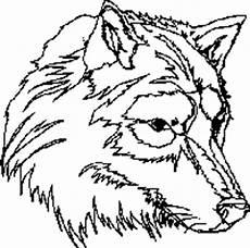 Malvorlage Wolf Einfach W 246 Lfe F 252 R