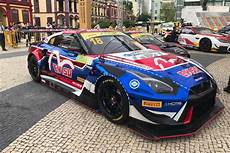 nissan gt r nismo gt3 ready to tackle macau with kcmg