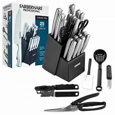 Farberware Kitchen Knives Farberware 174 Professional Stainless Steel Cutlery Set 25
