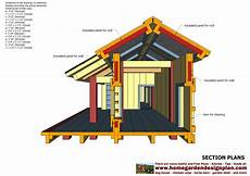 insulated dog house plan home garden plans dh303 dog house plans dog house