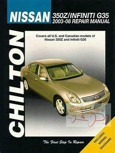 manual repair free 2003 infiniti qx free book repair manuals shop manual 350z g35 service repair nissan infiniti book chilton haynes ebay
