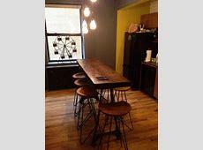 Narrow kitchen island / breakfast bar   Home Design