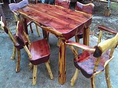 handmade rustic furniture 7 piece dining western
