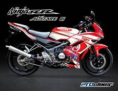 Modif Rr New by Striping 150 Rr New Merah Modifikasi Prostiker