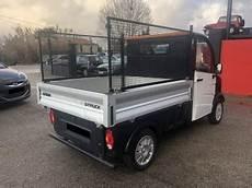 Voiture Sans Permis Aixam Mega D Truck Plateau Ridelles