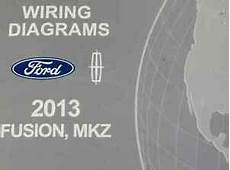 electric and cars manual 2013 ford fusion security system 2013 ford fusion lincoln mkz electrical wiring diagram shop manual ewd oem ebay
