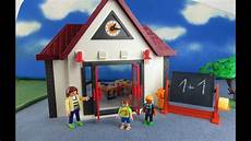 Playmobil Ausmalbilder Schule Playmobil Schule 6886 Neuheit Aufbauen