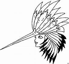 Malvorlage Indianer Kopf Malvorlage Indianer Kopfschmuck