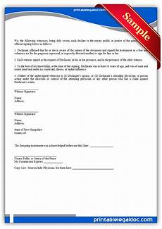 free printable power of attorney durable for health care form generic