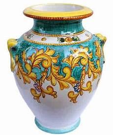 vasi ceramica di vietri oggettistica solimene ceramica vietri sul mare the
