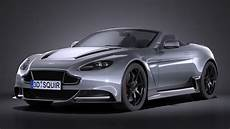 3d Model Aston Martin Vantage