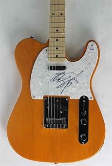 bruce springsteen guitar lot detail bruce springsteen ultra signed squire tele style guitar psa dna