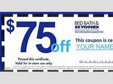 in store coupons for bed bath beyond