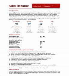 12 mba resume templates doc pdf free premium templates