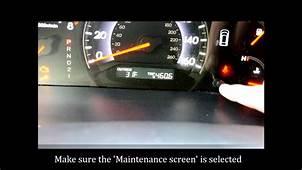 2006 Honda Odyssey Check Engine And Vsa Light