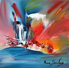 tableau peinture abstraite acrylique tableaux peinture moderne acrylique
