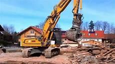 heavy excavator liebherr bagger 926 beim automatischen