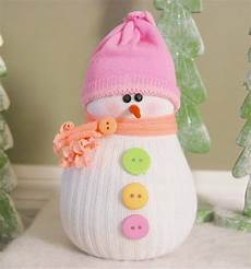 how to make the cutest sock snowmen the whoot