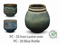amaco pottery amaco potter s choice layered glazes pc 20 blue rutile and