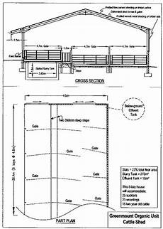 calf housing plans stas calf shed design uk