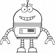 Ausmalbilder Coole Roboter Ausmalbild Roboter Kostenlos Malvorlagentv