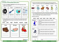 science worksheets ks1 12264 year 2 science assessment worksheet with answers everyday materials teachwire teaching resource