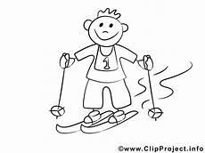 Jungs Malvorlagen Junge Auf Skiern Malvorlagen Und Kostenlose Ausmalbilder