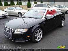 brilliant black 2007 audi s4 4 2 quattro cabriolet interior gtcarlot com vehicle