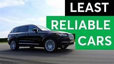 consumer reports 2018 least reliable cars youtube