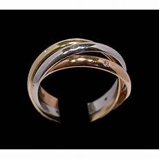 Bague Cartier 3 Ors Et Diamants
