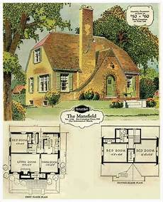 english tudor cottage house plans the mansfield 3 bedroom vintage house plans vintage