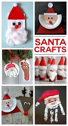 santa crafts activities