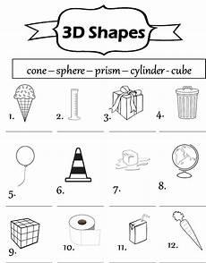 enjoy teaching english 3d shapes poem worksheet