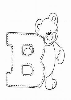 Buchstaben Ausmalbilder Zum Drucken Buchstaben B Ausmalbilder