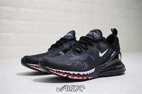 Nike Air Max 270 X A Bathing Ape Black Camo