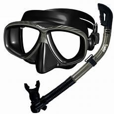 promate scuba dive snorkeling purge mask dry snorkel gear