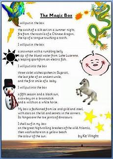 teaching poetry ks2 ideas 25488 magic box poem lesson idea magic box poem lesson talk 4 writing