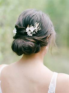 55 simple wedding hairstyles that prove less is more martha stewart weddings