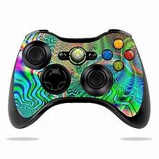 protective vinyl skin decal cover for microsoft xbox 360
